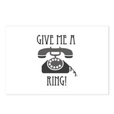 Give Me a Ring Postcards (Package of 8)