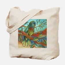 St Lucia Parrot Tote Bag