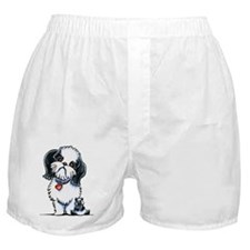 Shih Tzu Panda Boxer Shorts