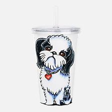 Shih Tzu Panda Acrylic Double-wall Tumbler