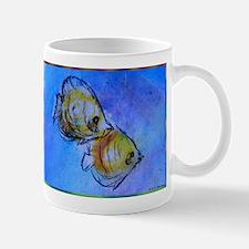 Tropical fish, art, Mugs