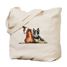 ACD and Cow Tote Bag