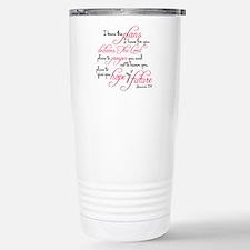 Jeremiah 29:11 Design Thermos Mug