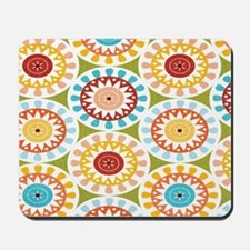 Floral Abstract Mousepad