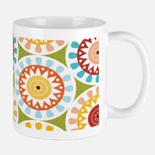 Floral Abstract Mugs