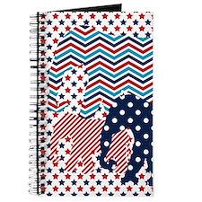 Cute Blue polka dot Journal