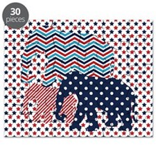 Funny White elephant Puzzle