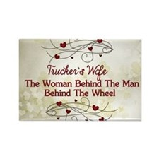 Trucker's Wife Definition Rectangle Magnet