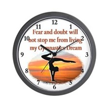 BLESSED GYMNAST Wall Clock