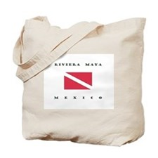 Riviera Maya Mexico Dive Tote Bag