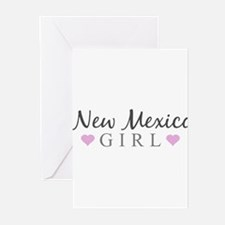 New Mexico Girl Greeting Cards