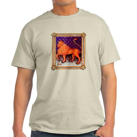 Leo (Medieval) Zodiac Light T-Shirt