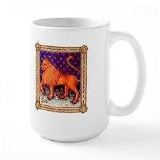 Leo (Medieval) Zodiac Mug