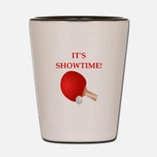 table tennis Shot Glass