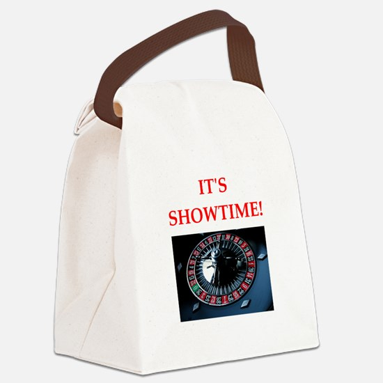 roulette Canvas Lunch Bag