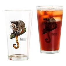 Emperor Tamarin Drinking Glass