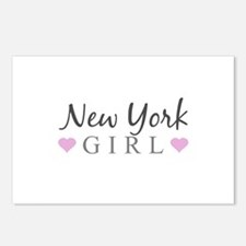 New York Girl Postcards (Package of 8)