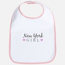 New York Girl Bib