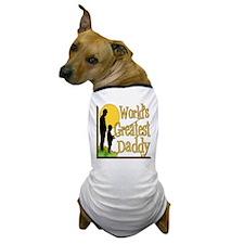 Best Daddy Fishing Dog T-Shirt