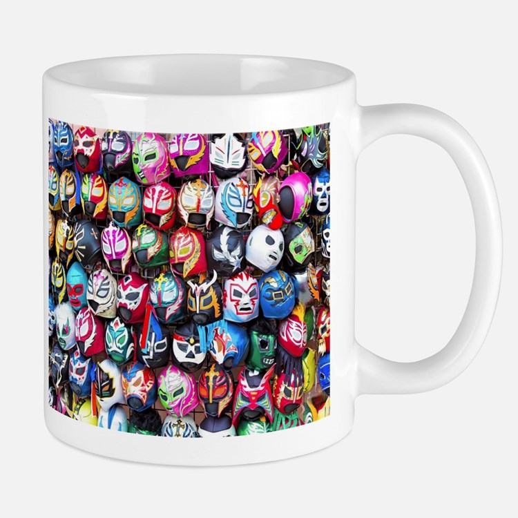 Mexican Wrestling Masks Mugs
