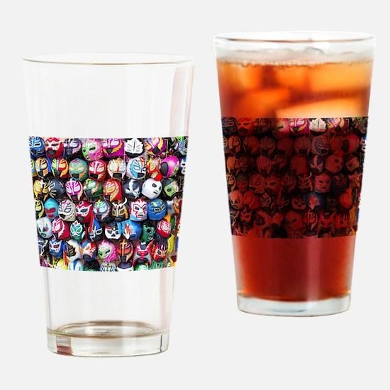 Unique Aztec Drinking Glass