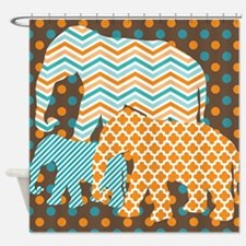 Cool Circus animals Shower Curtain