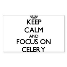 Keep Calm and focus on Celery Decal