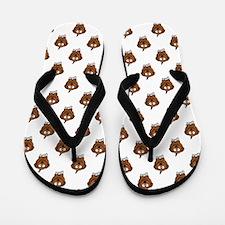 Cute Puppy Dogs Flip Flops