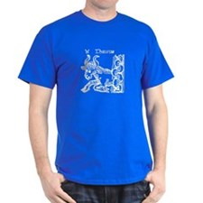 Taurus (Wood Cut) Zodiac T-Shirt