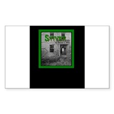 SHIVER by Wendy C. Allen Rectangle Decal