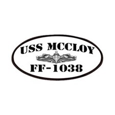 USS McCLOY Patches