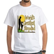 Best Step Dad Fishing Shirt
