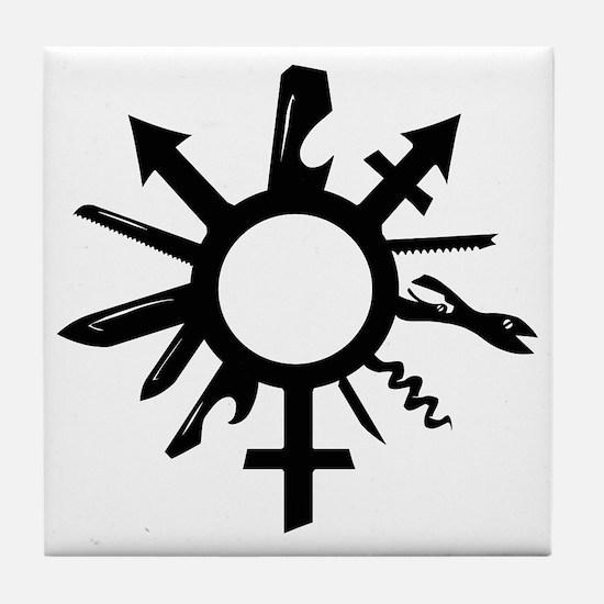 Cute Gender Tile Coaster