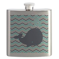 Cute Whale kid Flask