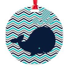 Cute Whale Ornament