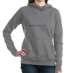 B U Women's Hooded Sweatshirt