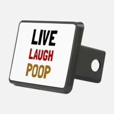 Live Laugh Poop Hitch Cover