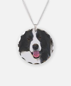 border collie Necklace