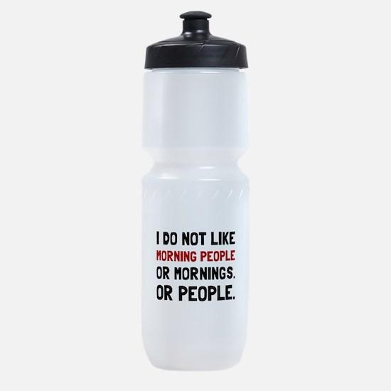 Morning People Sports Bottle
