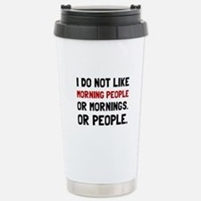 Morning People Travel Mug