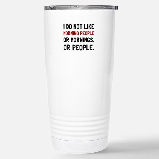 Morning People Travel Mug