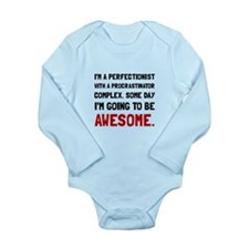 Procrastinator Awesome Body Suit