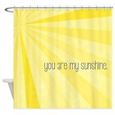 My Sunshine Shower Curtain