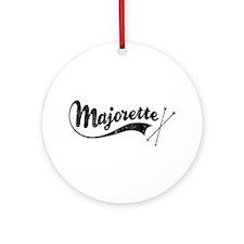 Majorette Ornament (Round)