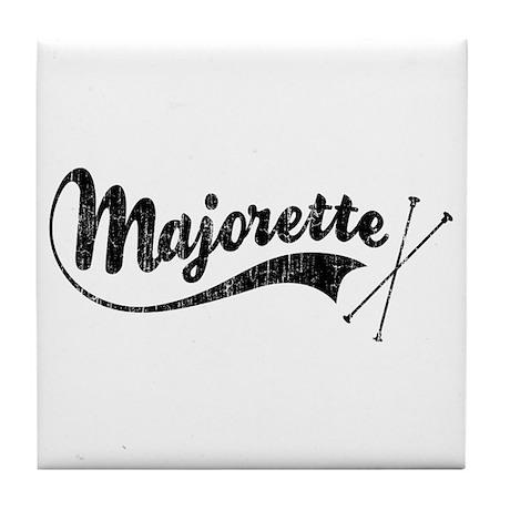 Majorette Tile Coaster