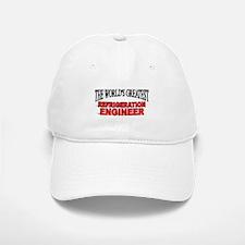 """The World's Greatest Refrigeration Engineer"" Baseball Baseball Cap"