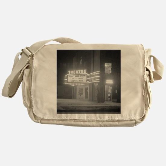 Cute Theater Messenger Bag