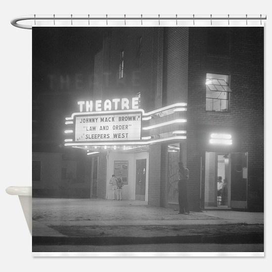 Cute Movie theater Shower Curtain