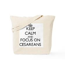 Funny Cesarean Tote Bag