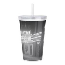 Cute Vintage movie Acrylic Double-wall Tumbler